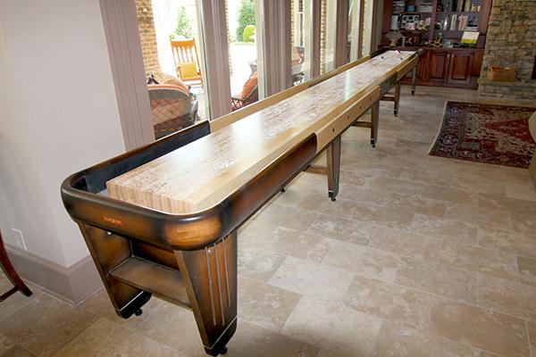 Customers Love Their Shuffleboard Table
