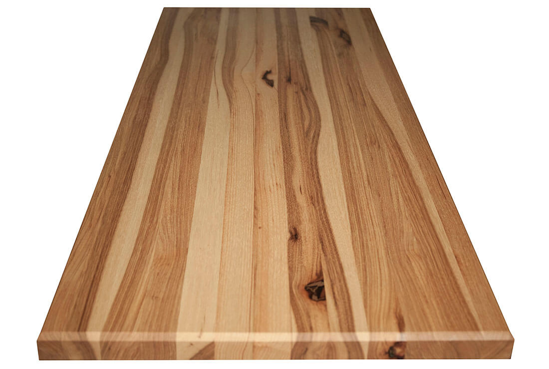36 X 1 75 Hickory Butcher Block Countertops Mcclure Couter Tops