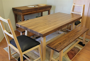 Butcher Block Tables & Dining Sets