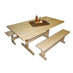 Maple Trestle Table