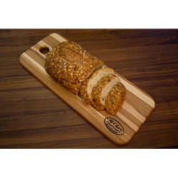 Hickory Bread Board Block Cutting Board