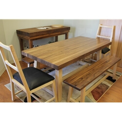 Walnut Oxford Dining Set