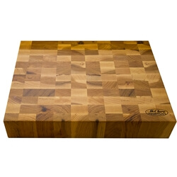 "Hickory Chopping Block 3"" thick"
