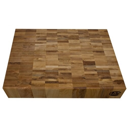 "Reclaimed Maple Chopping Block 3"" thick"